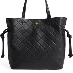 Tory Burch Georgia Slouchy Quilted Leather Tote